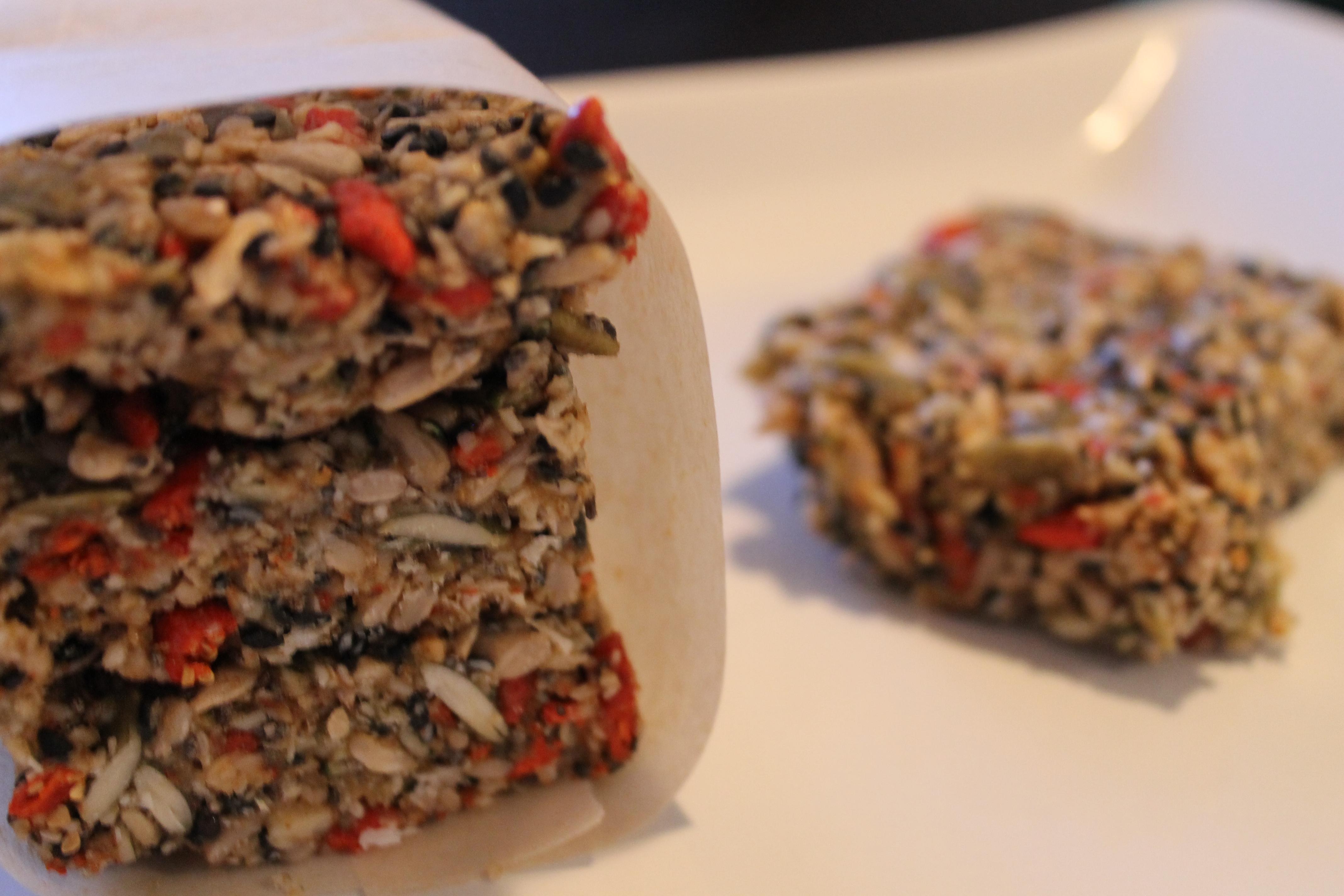 Nutless raw superfood granola bars for Superfood bar